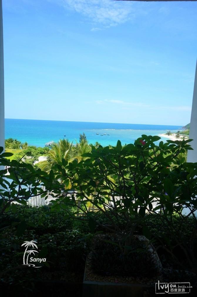 看海景享受碧海蓝天