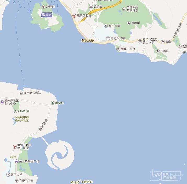 人工岛上,叫双鱼岛