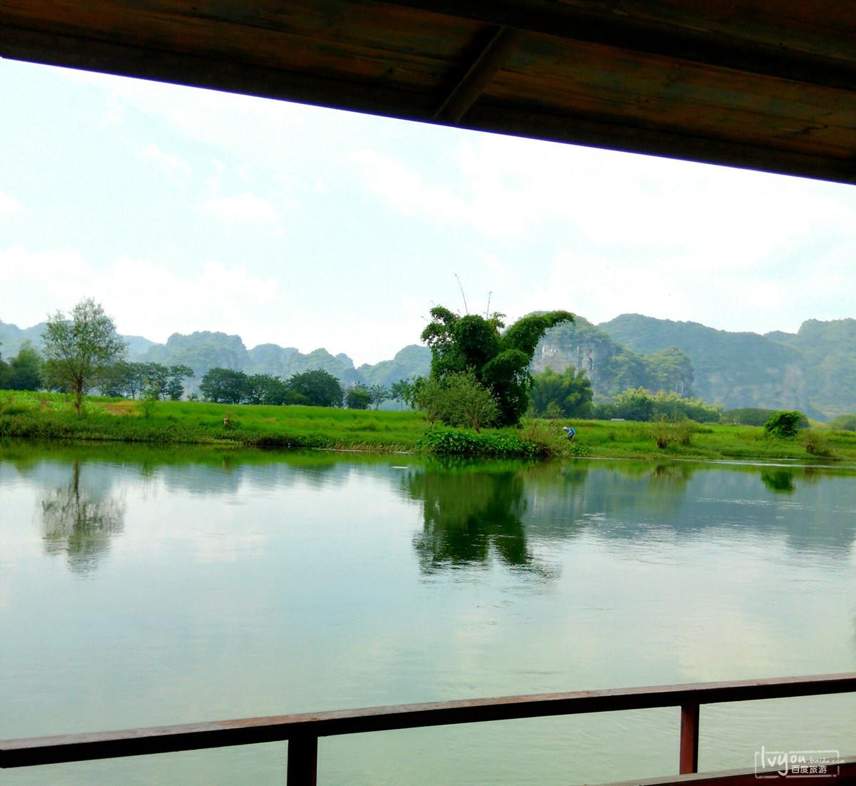 游记攻略 广西南宁上林县 下水源 大龙湖 三里洋渡游记 避暑玩水好