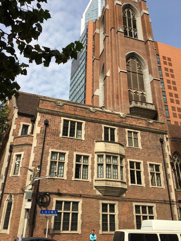 上海城市规划展示馆福州路文化街上海博物馆老上海1930风情街沐恩堂