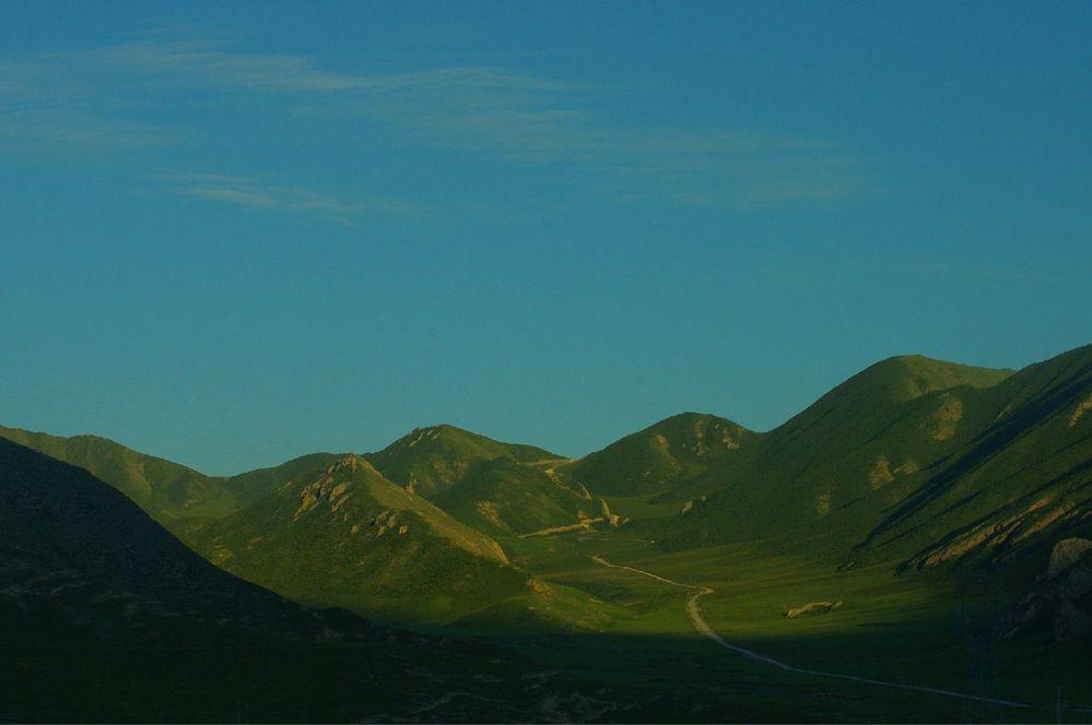 西宁到格尔木沿途的风景.图片