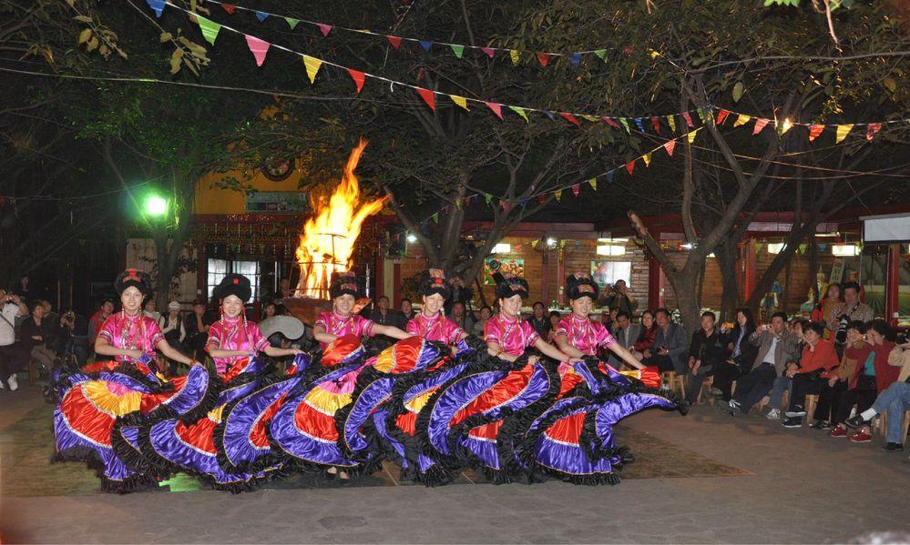 彝族�y�j��f�/&��9�c9��_彝族舞蹈图片