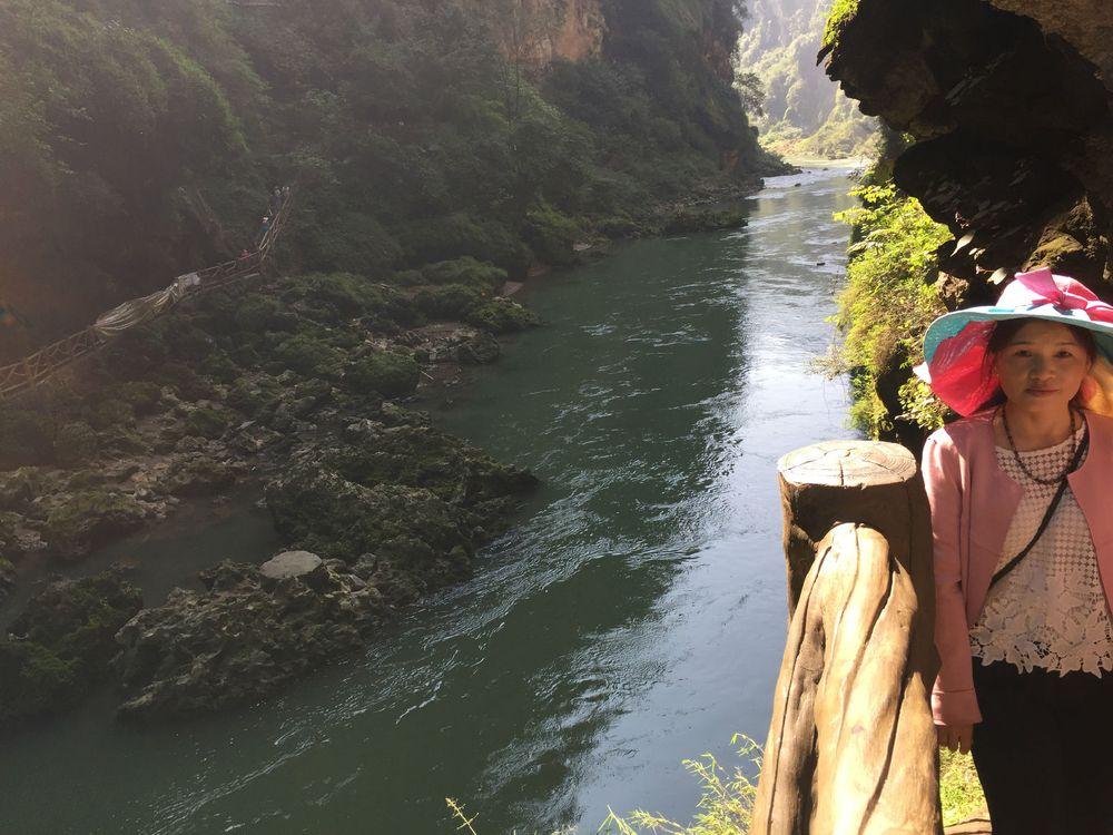 贵州省黔西南兴义市马岭河大峡谷图片