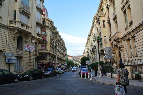 欧式风格的街道图片