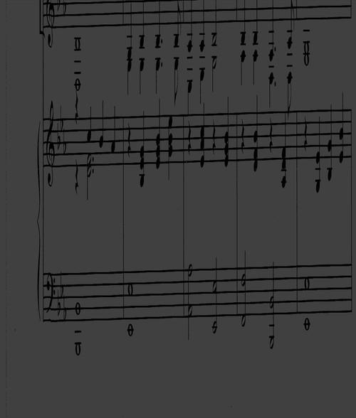 送别-混声合唱 钢琴伴奏谱正谱五线谱-降e调