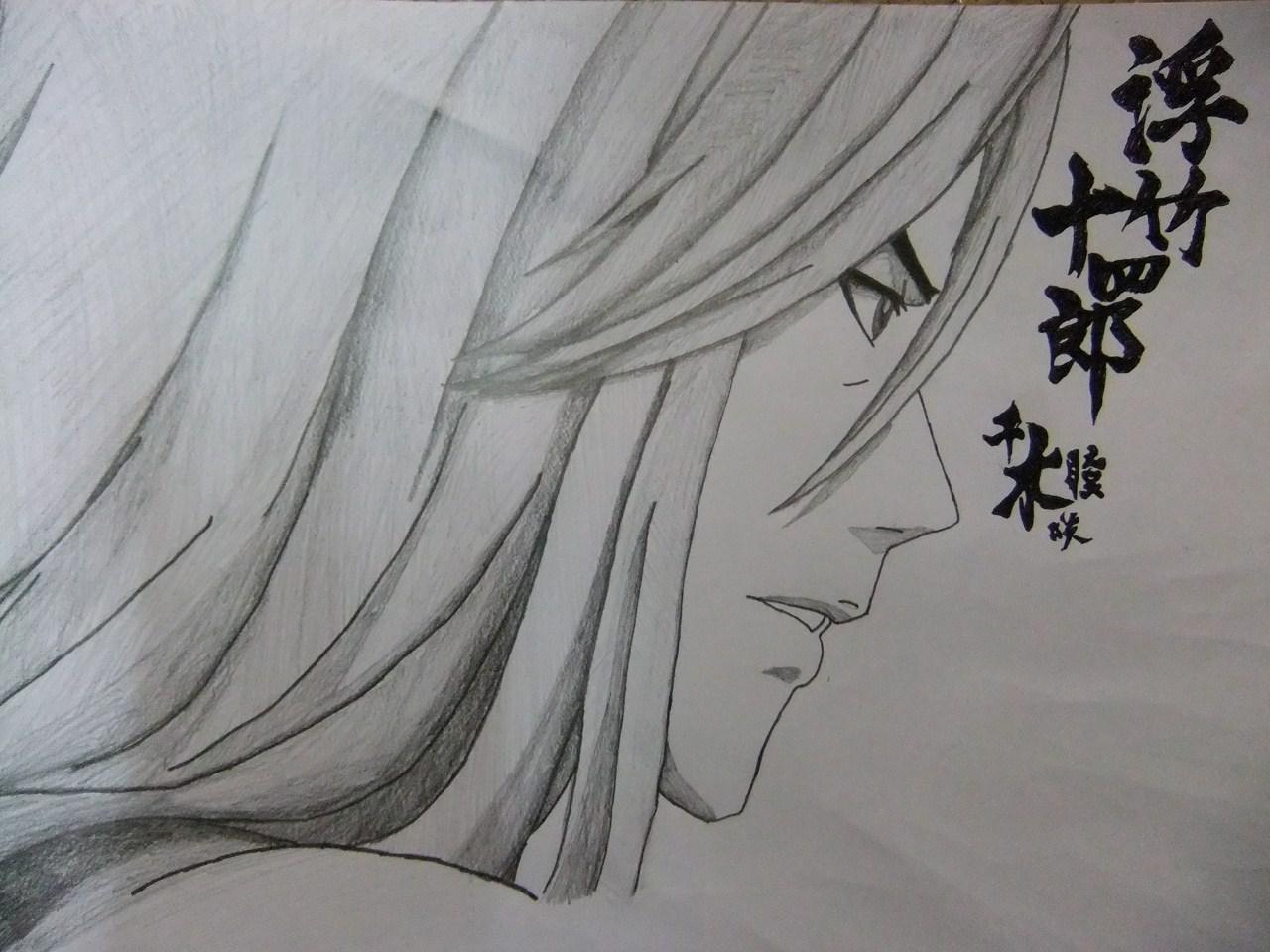 竹子手绘图片铅笔画