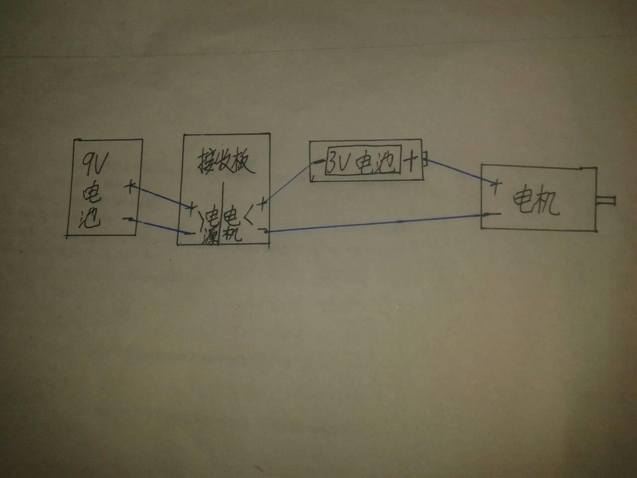 我想把遥控车按照这个电路图改造,不会弄坏电路板吧?