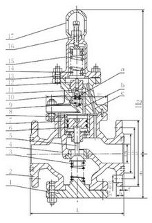 活塞式减压阀工作原理图图片
