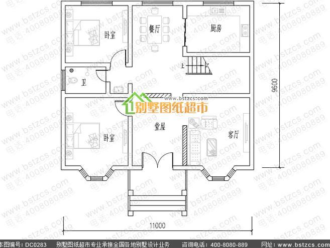 求位建房设计师帮忙设计一套农村两层楼房设计图,包含图片