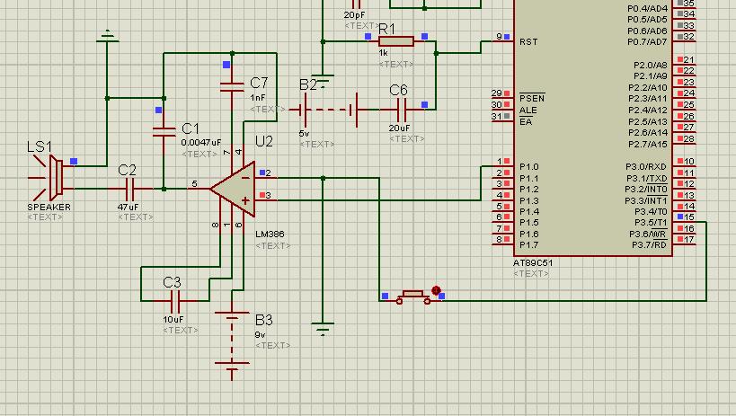 lm386放大电路 我的喇叭怎么不响啊