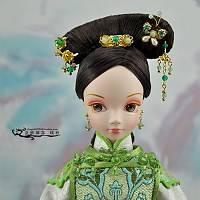 求用芭比娃娃做古装发型,图片图片
