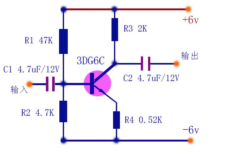 三极管基本放大电路