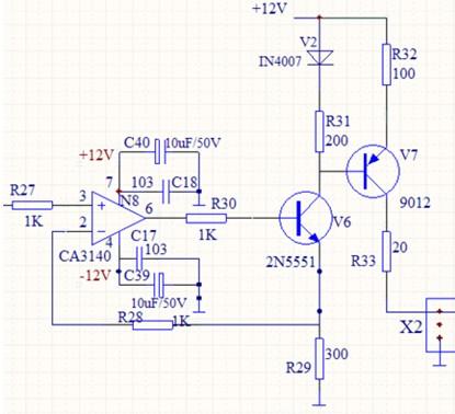 0~5v到4~20ma电压电流转换器设计所需电路