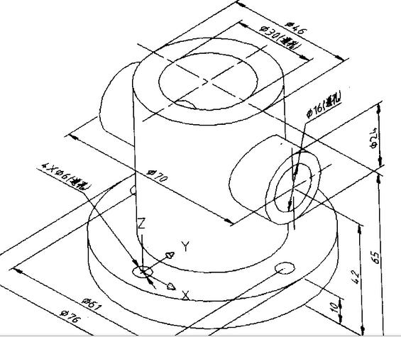 轴测图画法手绘
