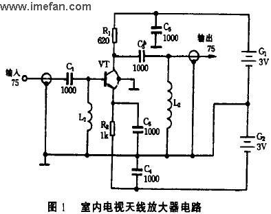 如果想制作个有源放大天线,比较难,电路较复杂,如果您不是一个电子