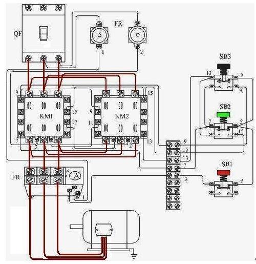 答器继电器电路图