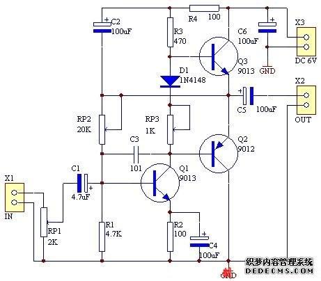 电路 电路图 电子 原理图 461_404
