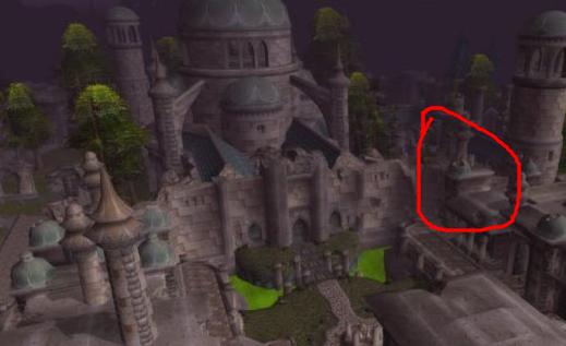 魔兽世界,怎么从幽暗城到银月城,目前我在幽暗城银行那个地方!