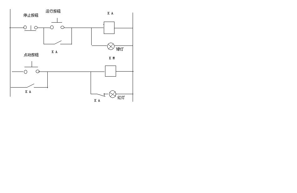 这点动自锁电路图的工作原理是什么?