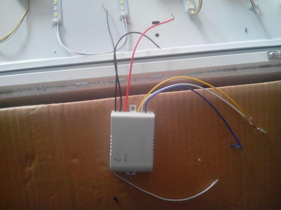 吸顶灯遥控器接线图