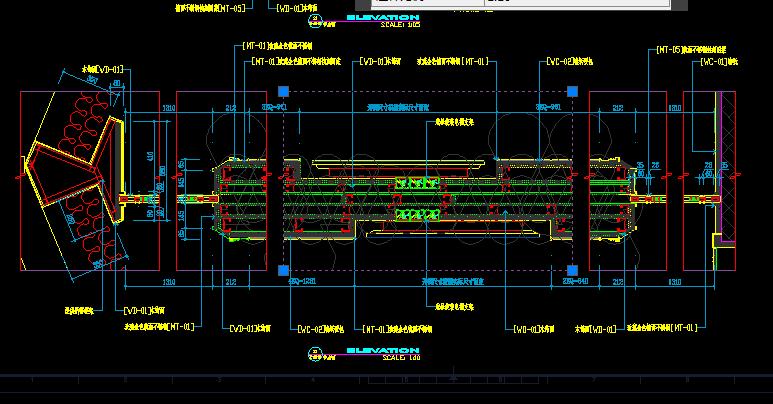 如图CADv图面图面中过程在空间线型比例正常cad里一部分怎么切模型图片