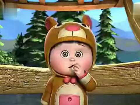 熊出没之夺宝熊兵里的嘟嘟图片,请给我几张,谢谢!
