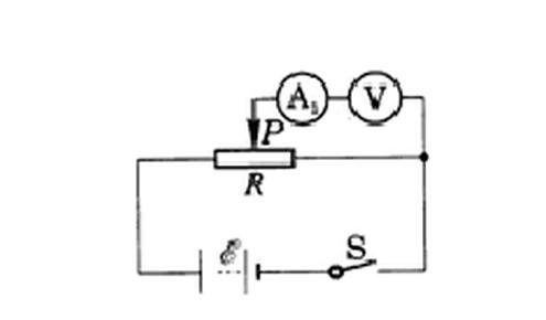 物理电路问题,为什么电压表与电流表串联