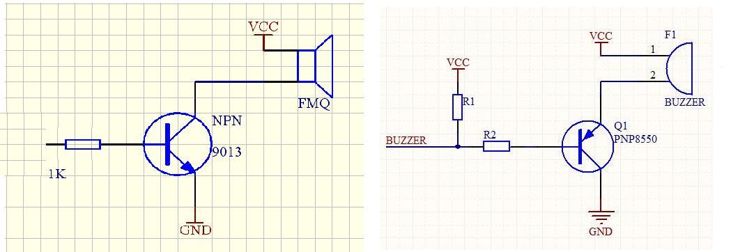 5v有源蜂鸣器电路_蜂鸣器一般都是有源的,驱动电路只要输出高低电平就可以,如果是