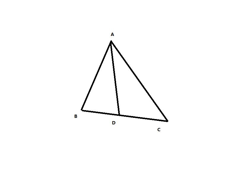 三角形中线怎么画 要图图片