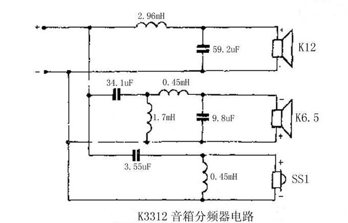 见绍一个典型的三分频电路图