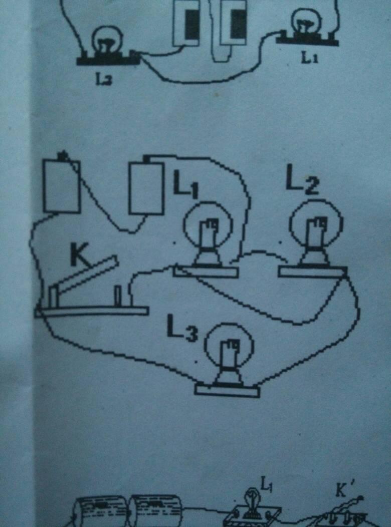 电路图怎么画? 初三物理