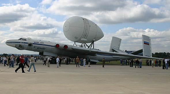 苏联在70年代 曾经改造过类似飞机型号是   vivi—t航天飞机运输机