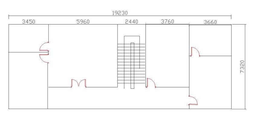 求农村4间3层房屋设计图