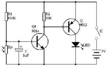 (要求只能用电阻·电容和三极管)