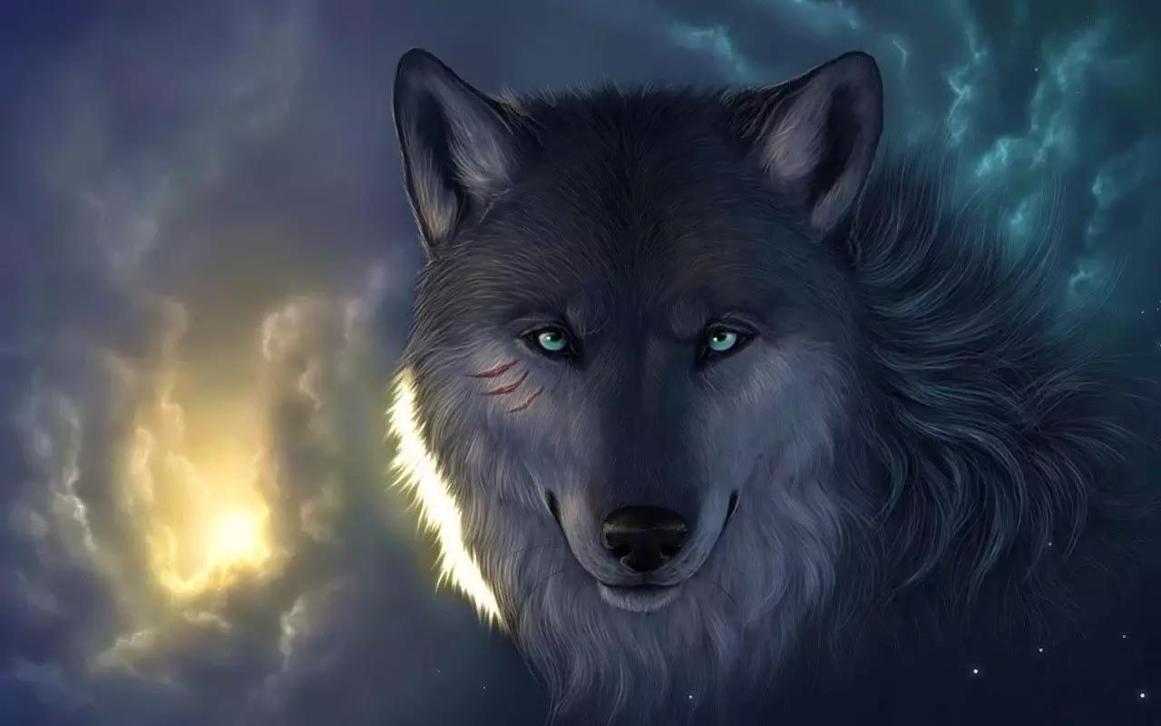 狼图片霸气图炫酷