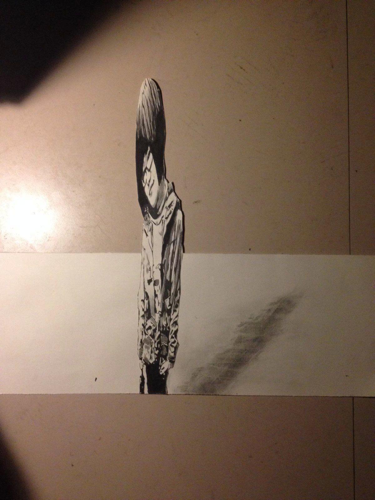 手绘3d立体画怎么画