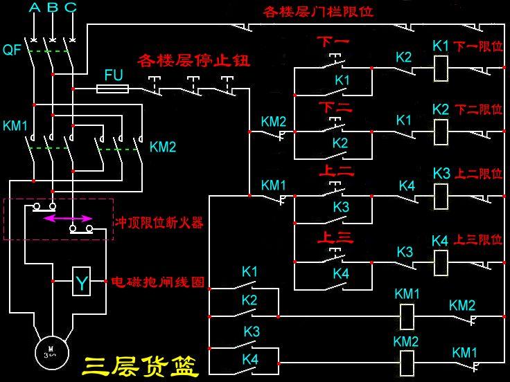 com  要用继电器控制电路图,不要plc梯形图 急需!