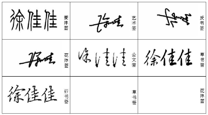 艺术签名设计免费版 ,名字叫徐佳佳.谢谢各位大师图片