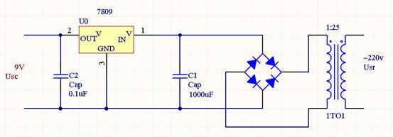 用7905,7805,7915,7815怎么制作简易电源,,,有电路图吗?