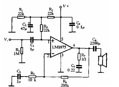 最简单功放电路图
