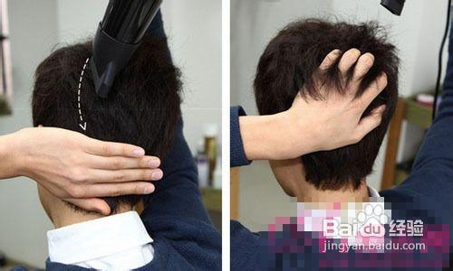 男生头发怎么用手抓就蓬松 男生怎么把刘海图片