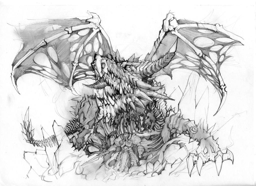 魔兽世界小德手绘