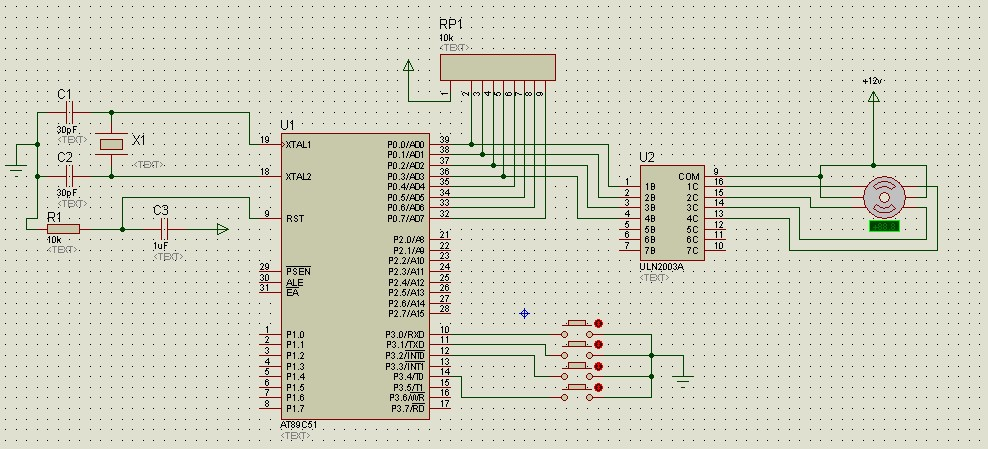 uln2003怎么驱动2相5线步进电机?