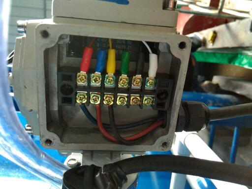220v电动阀如何接线图片