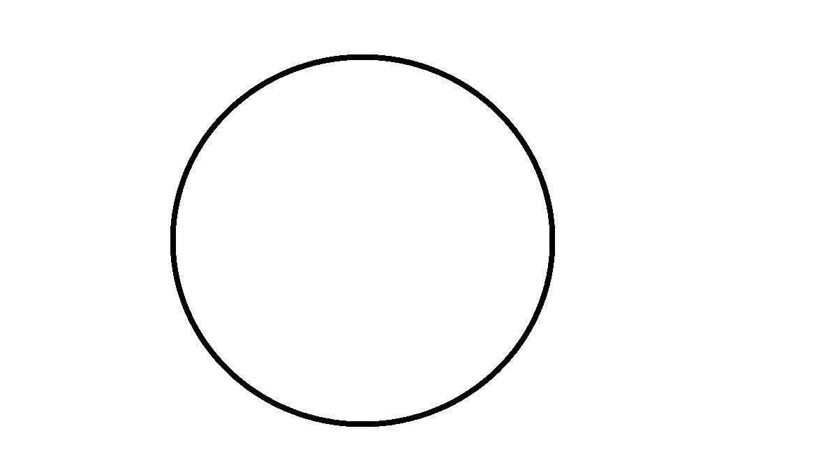 圆的简笔画图片