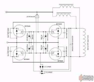 一个zvs给电容充电,怎么让电容充满之后自动断电