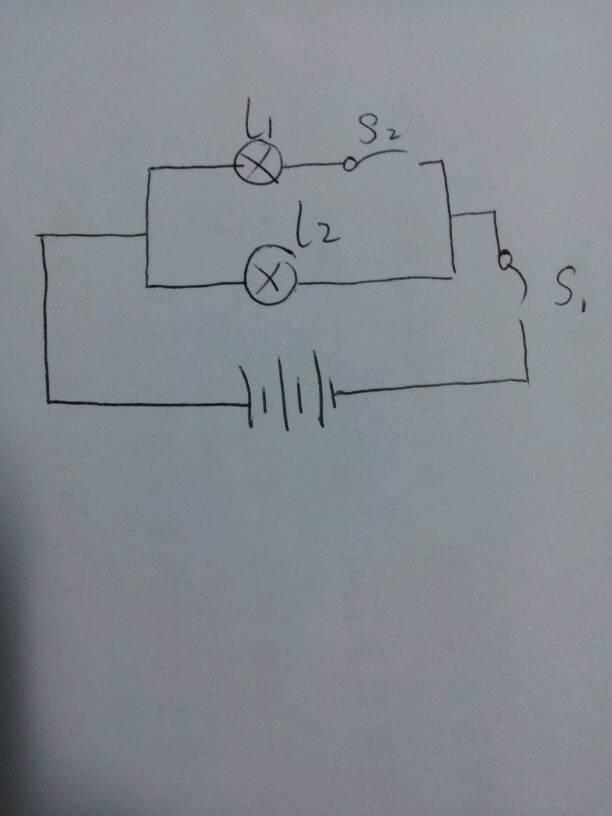 初三物理!这电路图怎么画啊