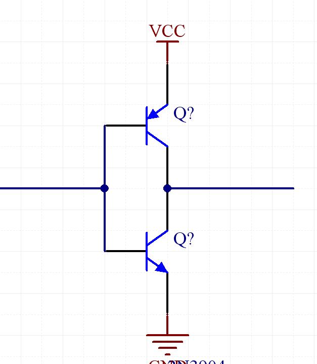 图腾柱结构mosfet驱动电路为什么不是pnp在上?