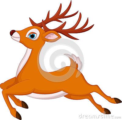 鹿长什么样子动画图片