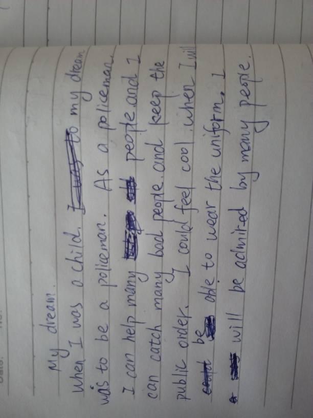超简单的英语作文50字.我的梦想